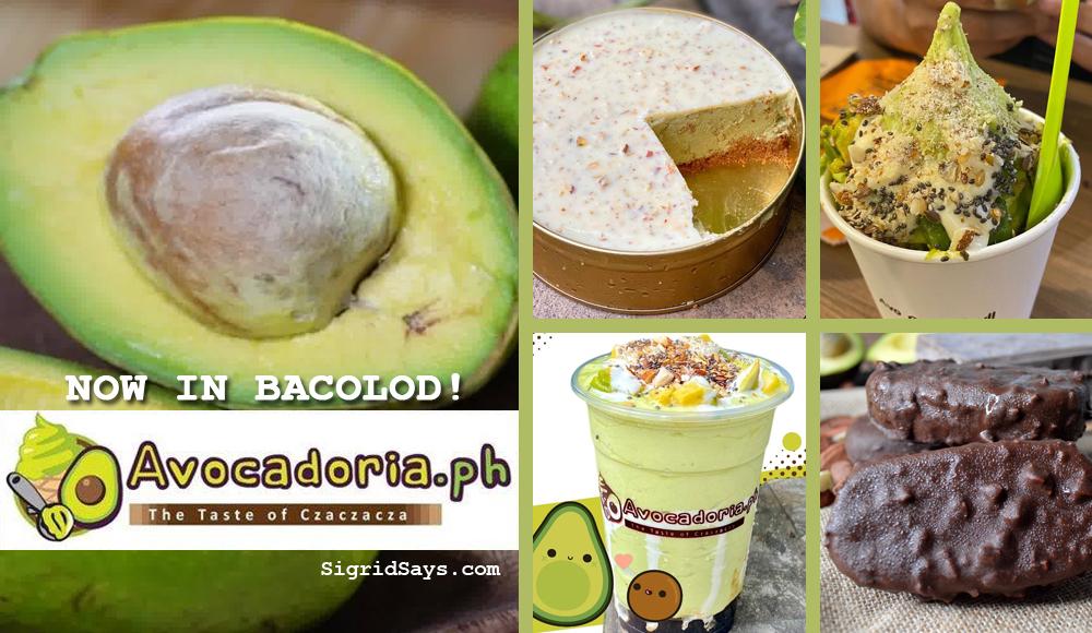 Avocadoriaph Bacolod - Avocadoria - avocado desserts - superfoods - Chef Czarina Jagto - SM City Bacolod - premium avocado products