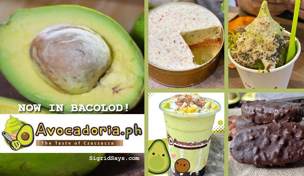 Get Premium Avocado Treats at Avocadoria.ph Bacolod