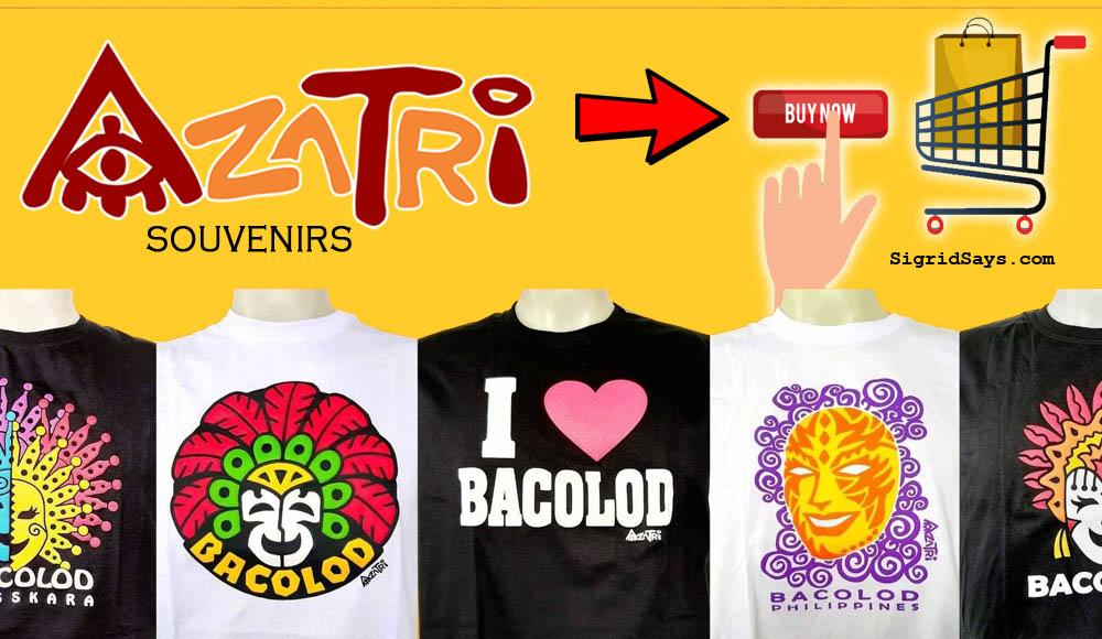 Azatri Souvenirs: Get Bacolod Shirts Online | MassKara Festival
