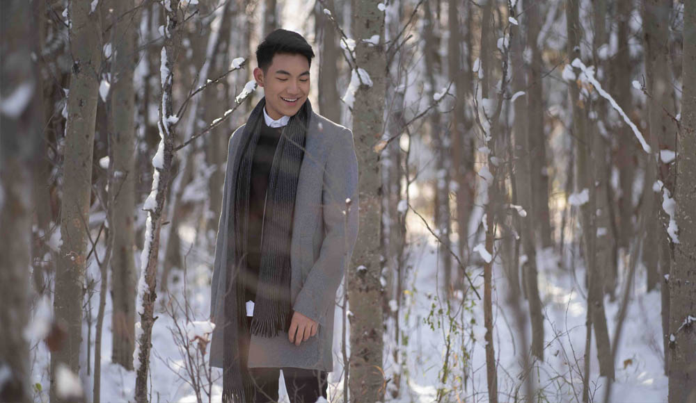 Darren Espanto - Filipino singer - Believe in Christmas - new song - virtual performance - UNDP - The Voice Kids - winter in Canada