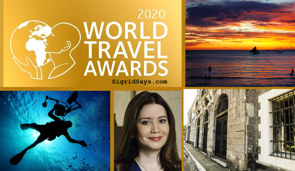 World Travel Awards Asia - Philippine travel destinations - Philippines - dive tourism - Intramuros - boracay - DOT Secretary