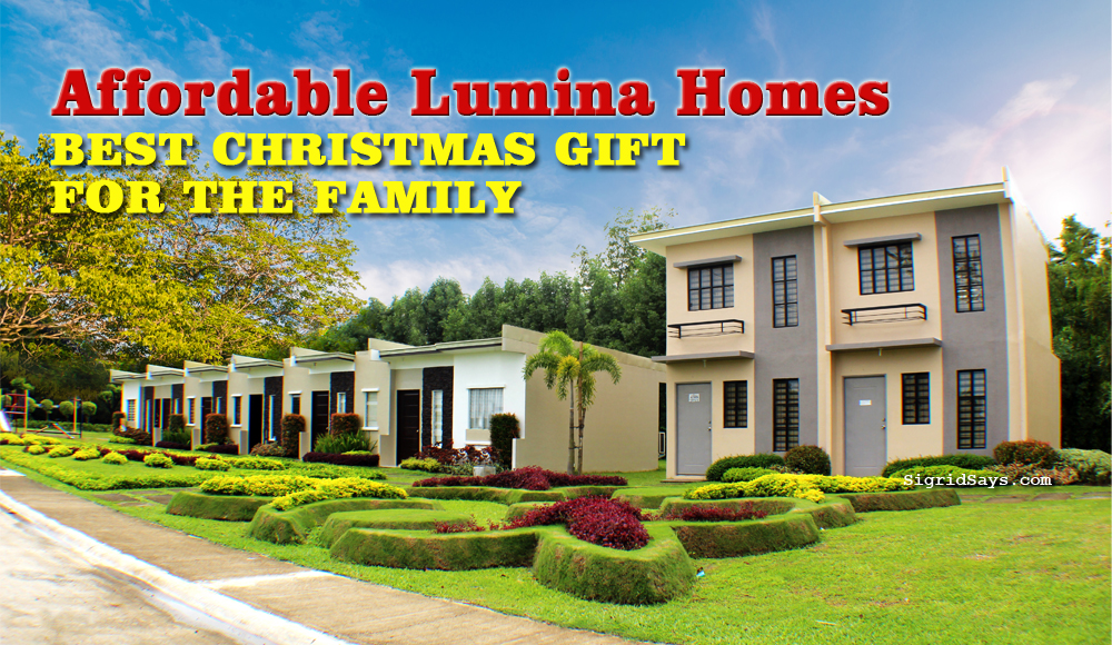 affordable Lumina Homes house and lot package - best Christmas gift for the family - cul de sac - Philippine real estate