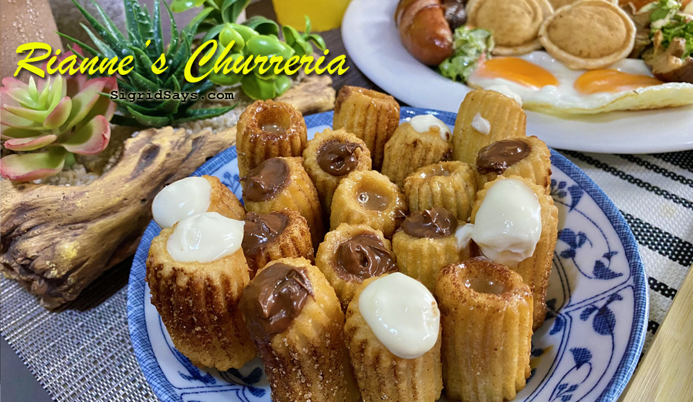 Riannes Churreria - Bacolod restaurants - Bacolod cafe - brewed coffee - churros con chocolate - European cuisine - big breakfast - stuffed churros