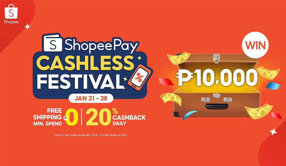ShopeePay Cashless Festival: Top Up and Transfer to Win