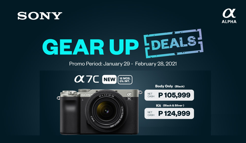 Sony Philippines Gear Up Deals - upgrade your gear - sony cameras - Sony promos