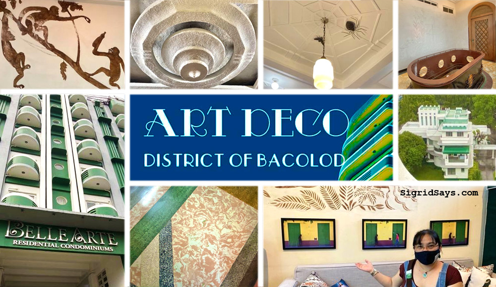 Art Deco District of Bacolod - Negros Occidental heritage tourism - Belle Arte Residential Condominiums - art deco architecture - Bacolod tourism