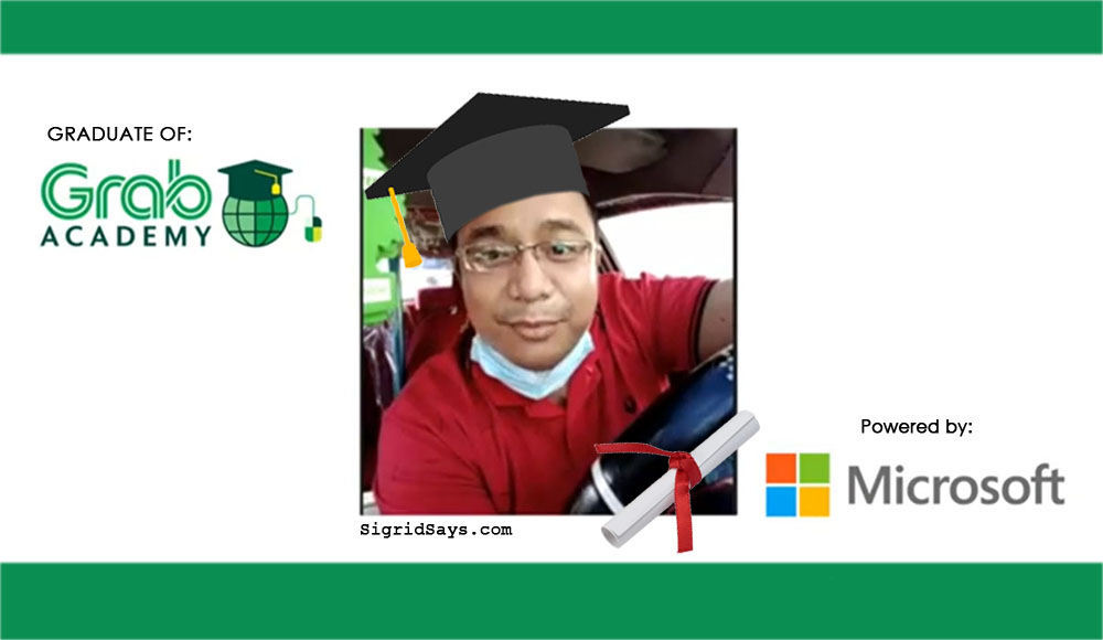 GrabAcademy - upskills for Grab drivers and delivery partners - Microsoft - graduate