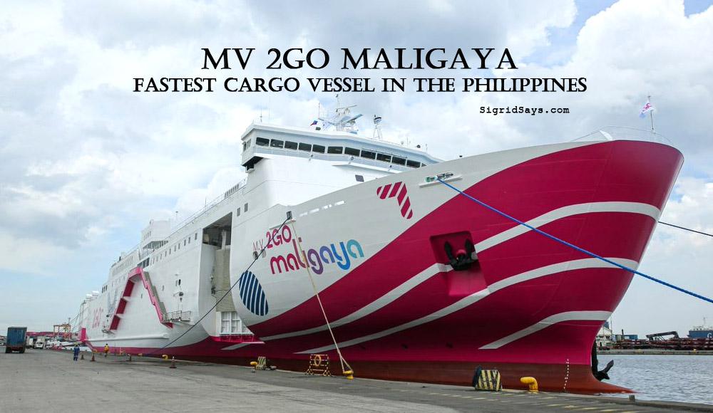 MV 2GO Maligaya - 2GO Shipping - 2GO Philippines - sea travel - Manila-Cebu-CDO - fastest ship - docked