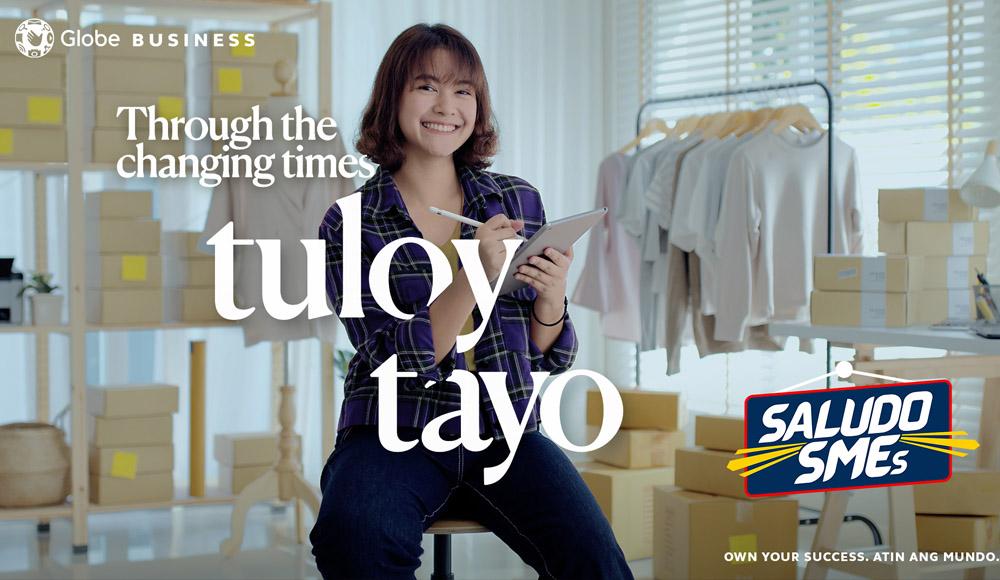 Globe Empowers Filipino SMEs: Tuloy Tayo!