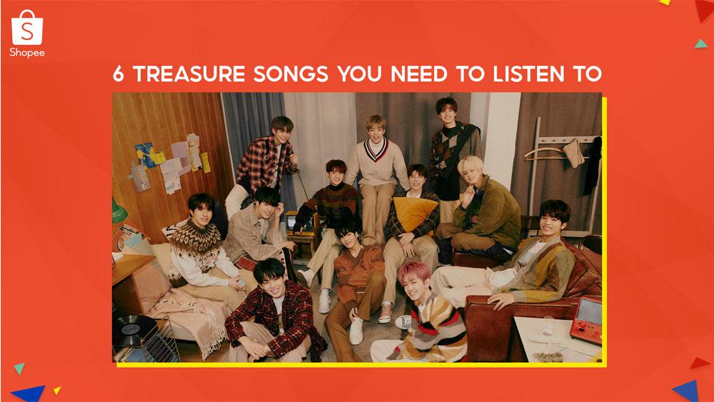 Treasure - K-Pop- Korean boy band - songs of Treasure
