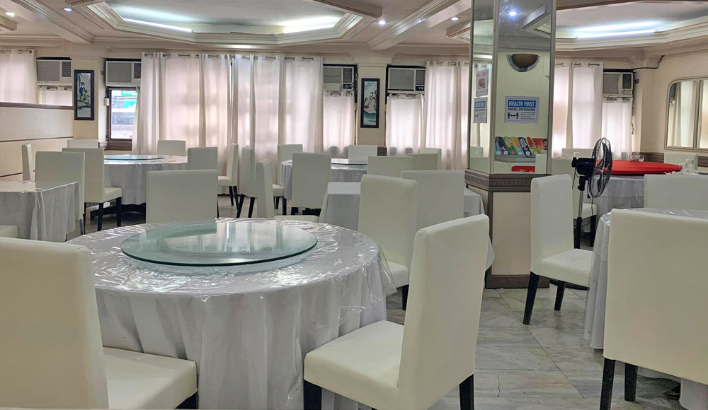 Apollo Restaurant Hilado - Bacolod restaurant- chinese food - cozy restaurant - luxe white chairs
