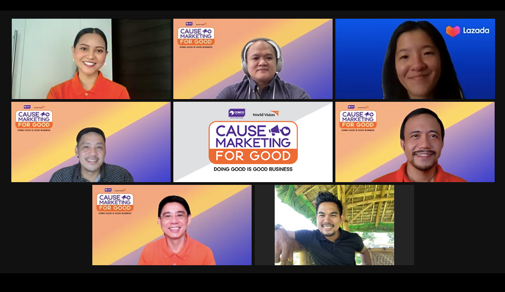 Cause Marketing for Good virtual conference - Comco SEA - World Vision - MSMEs - business for a cause