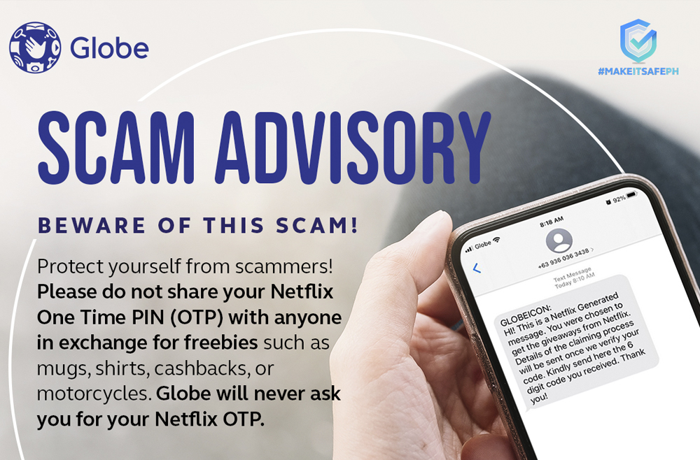 Globe Postpaid Customers and OTTs: How to Spot a Scammer