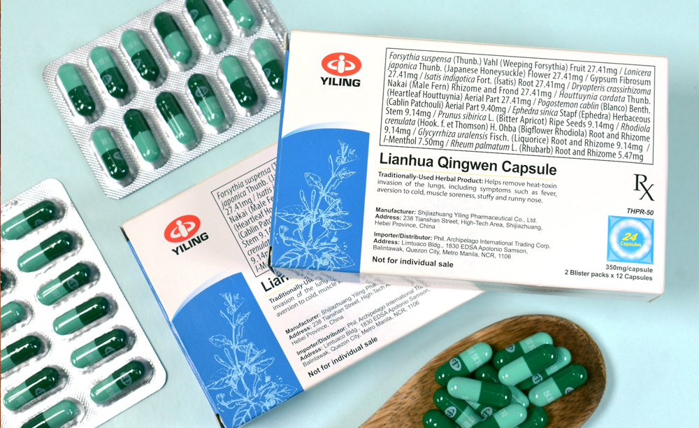 Lianhua Qingwen Capsule - Traditional Chinese Medicine - Covid-19 pandemic - Philippine Archipelago International Trading Corporation - blister pack